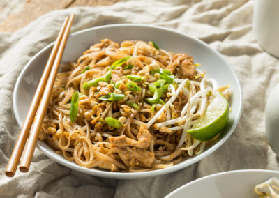 Keto Diet Chicken Pad Thai