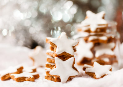 Nutty Christmas Biscuits