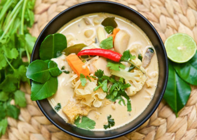 Coconut and Greens Soup