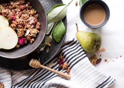 Honey and Nut Granola